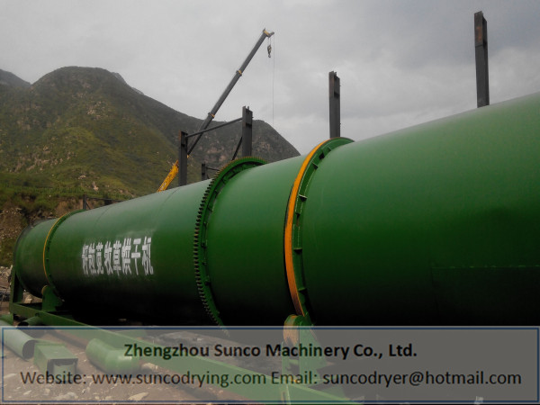 Alfalfa Dryer in Shanxi