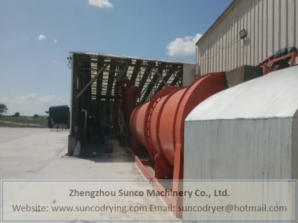 Sheep Manure Dryer in Neimeng