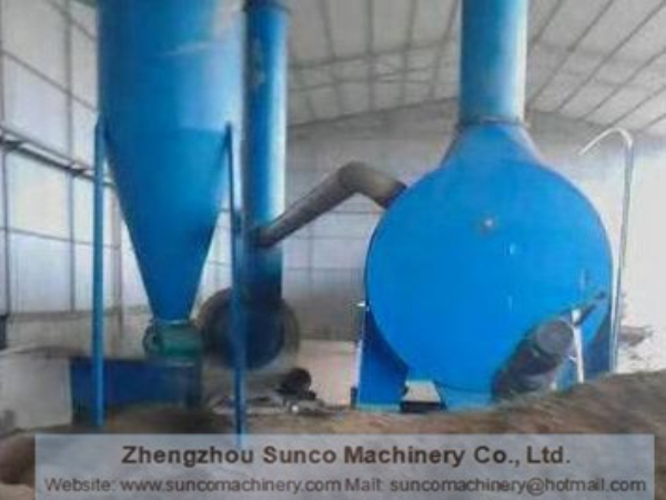 Sisal Residue Dryer in Guangxi