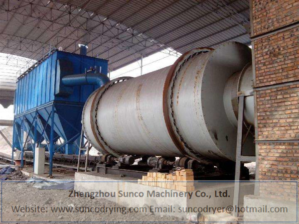 Fly Ash Dryer in Weihui