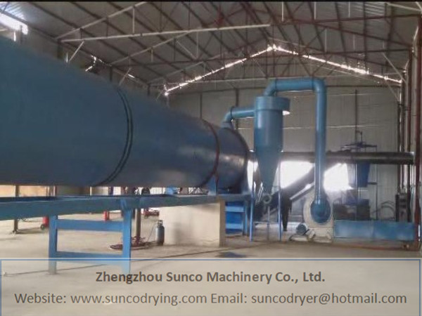 Pomace Dryer in Sichuan