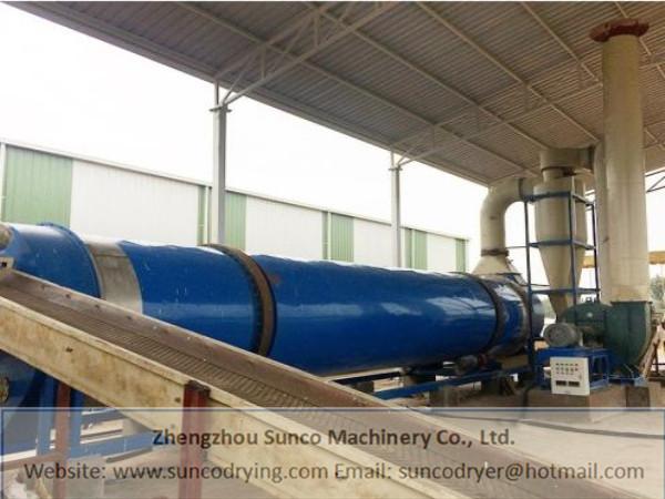 Brewer's Grains Dryer in Qingdao