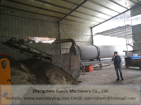 Chicken Manure Dryer in Nanping