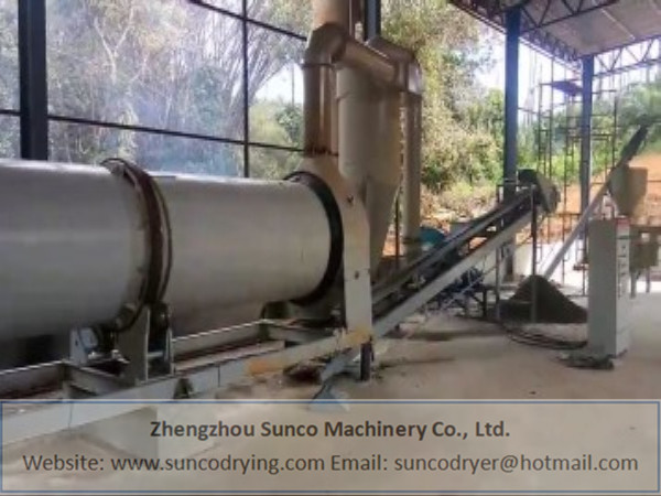 Poultry Manure Dryer in Malaysia