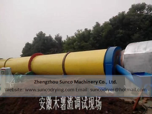 Cassava Dregs Dryer in Anhui