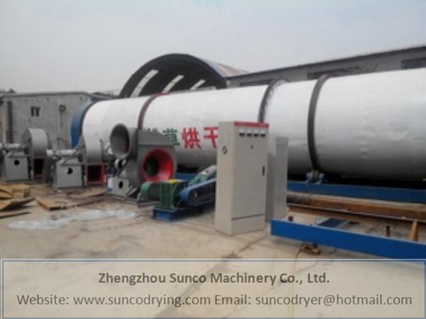 Wheat Straw Dryer in Yancheng