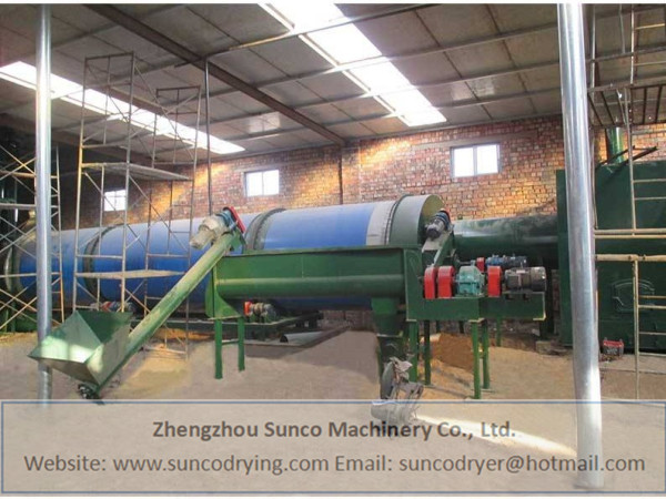 Corn Silage Dryer in Henan