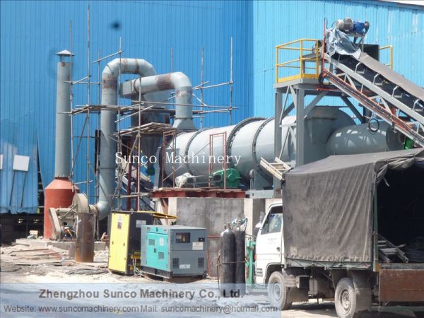 Slag Drying Machine in Malaysia