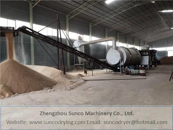 Silica Sand Dryer