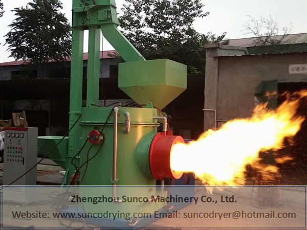 Sawdust, Palm Kernel Shell Fired Hot Air Furnace: