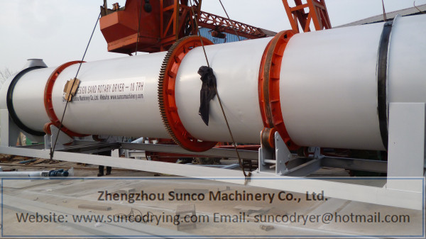 sand dryer, sand drying machine, sand rotary dryer