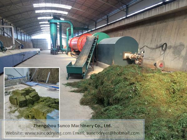 Hay Drying Machine, hay dryer, rotary hay dryer machine