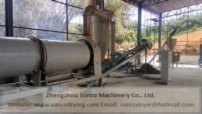 chicken manure dryer, chicken manure drying machine, rotary chicken manure dryer, chicken manure drying system