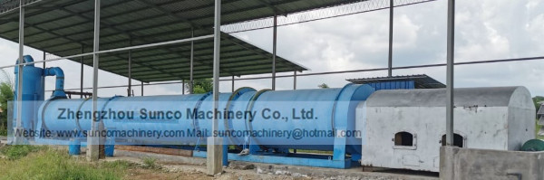 drying chicken manure machine, chicken manure dryer, rotary chicken manure dryer